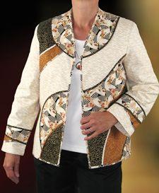 Topanga Wearable Art Jacket Pattern by Brensan Studios