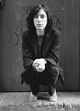 Patti Smith, one of the coolest women alive.