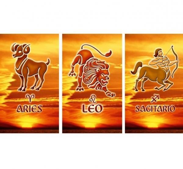 Cuáles son los signos del zodiaco de fuego