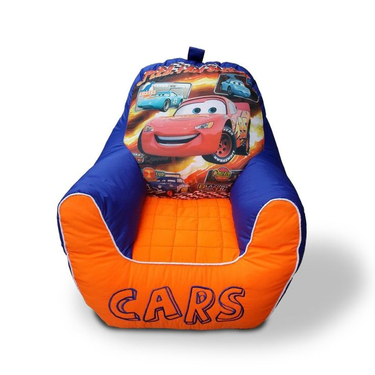 Cars Parachute Baby Sofa Bean Bag