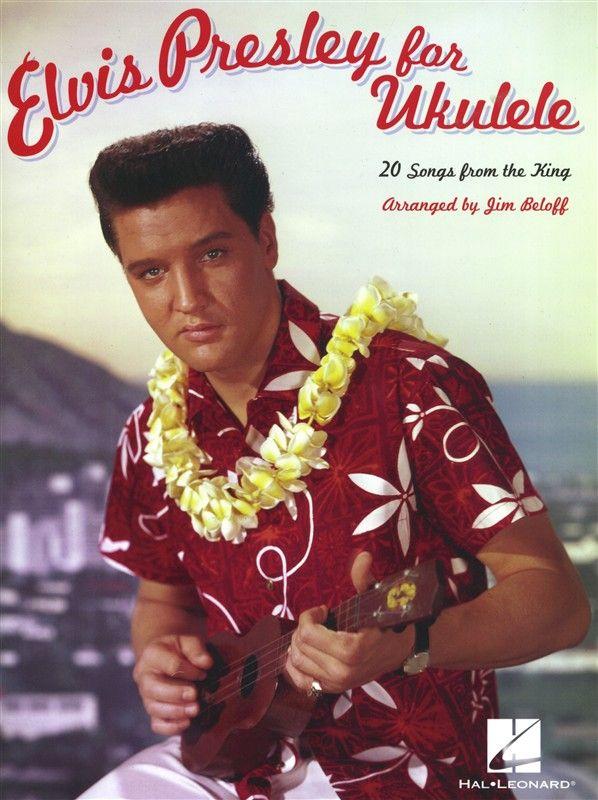 Elvis Presley for Ukulele - 20 de las canciones del rey con diagramas de acordes para ukelele y letras.