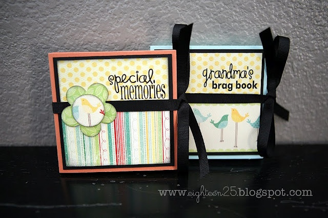 What a cute Mother's Day DIY gift idea for grandmothers !: Books Covers, Scrapbook Ideas, Accordion Album, Crafts Ideas, Mothers Day Gifts, Gifts Ideas, Brag Books, Diy Gifts, Minis Scrapbook