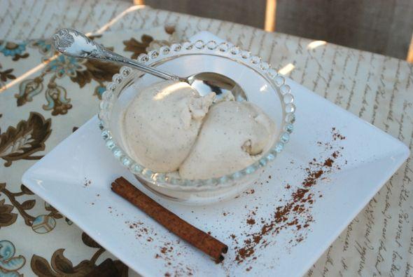 Cinnamon Vanilla Gelato from Zestuous