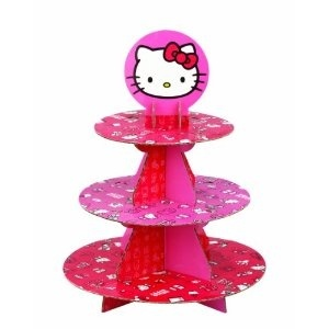 cupcake stand hello-kitty-party: Paper Cupcake, Cupcake Stands, Wilton Hello, Holds 24, 24 Cupcakes, Birthday Idea, Kitty Cupcake, Hello Kitty, Kitty Paper
