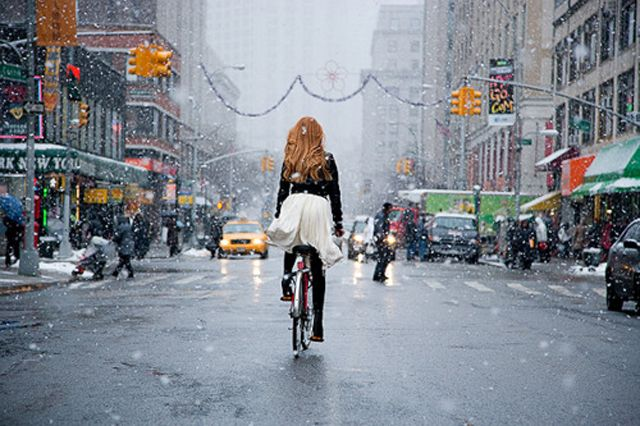 New York at Christmas: The Holidays, New York Cities, Bike Riding, The Cities, Hair, Newyork, Style Blog, Bicycle, Bike Style
