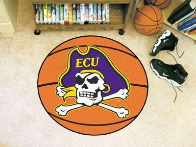 "East Carolina Basketball Mat 27"" diameter  #sdsmarket #SDSSUPPLYCORP"
