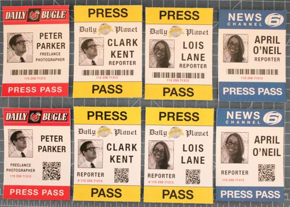 Clark Kent Lois Lane Peter Parker Or April O Neil Press