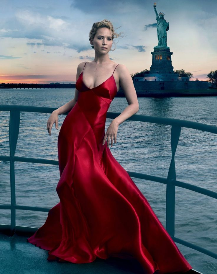Jennifer Lawrence photographed by Annie Leibovitz and Inez and Vinoodh and Bruce Weber for Vogue, September 2017.