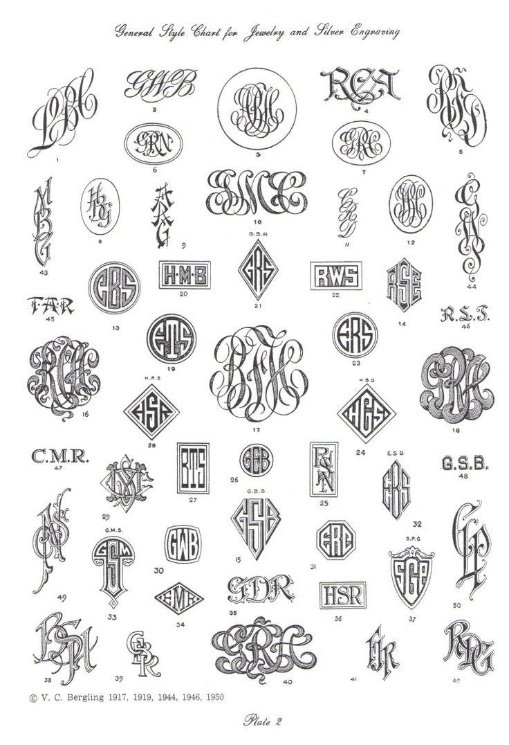 masculine monogram font - Google Search