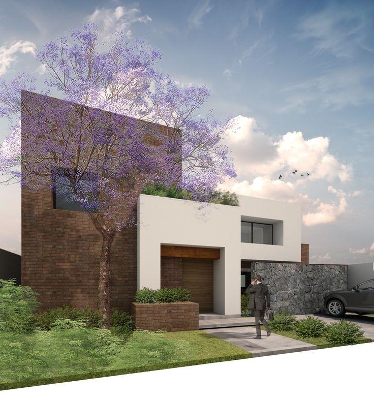 Fachada principal Casa Serena   Dionne Arquitectos