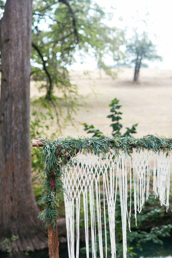 171 best macrame wedding altar images on wedding