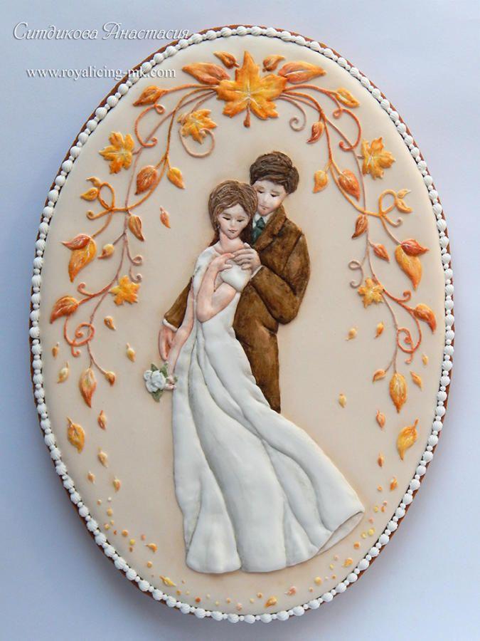"""Cookies """"Autumn Wedding"""" - Cake by Anastasia"""