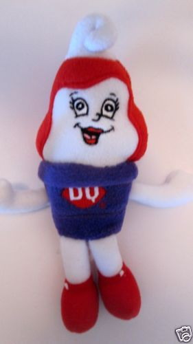 Dairy Queen Toys : Dq dairy queen ice cream advertising plush bean bag cherry