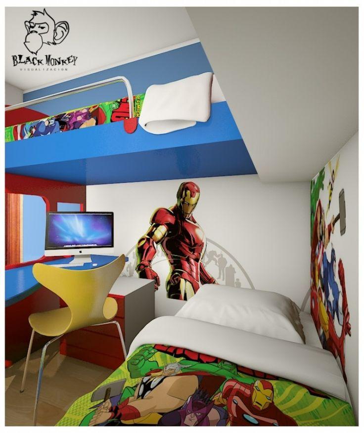 Attractive Superhero Bedroom Ideas James Macmillan For Super Hero Room Ideas
