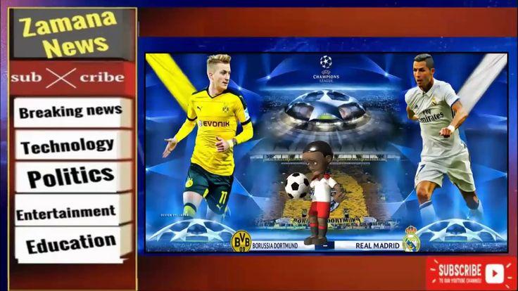 Borussia Dortmund vs  Real Madrid  Live stream : Kick off time and Match info