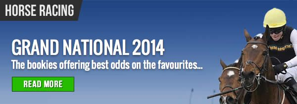 Grand National 2014: The horses to back & which bookies currently offer punters the best early odds and free bets: #horseracing #grandnational