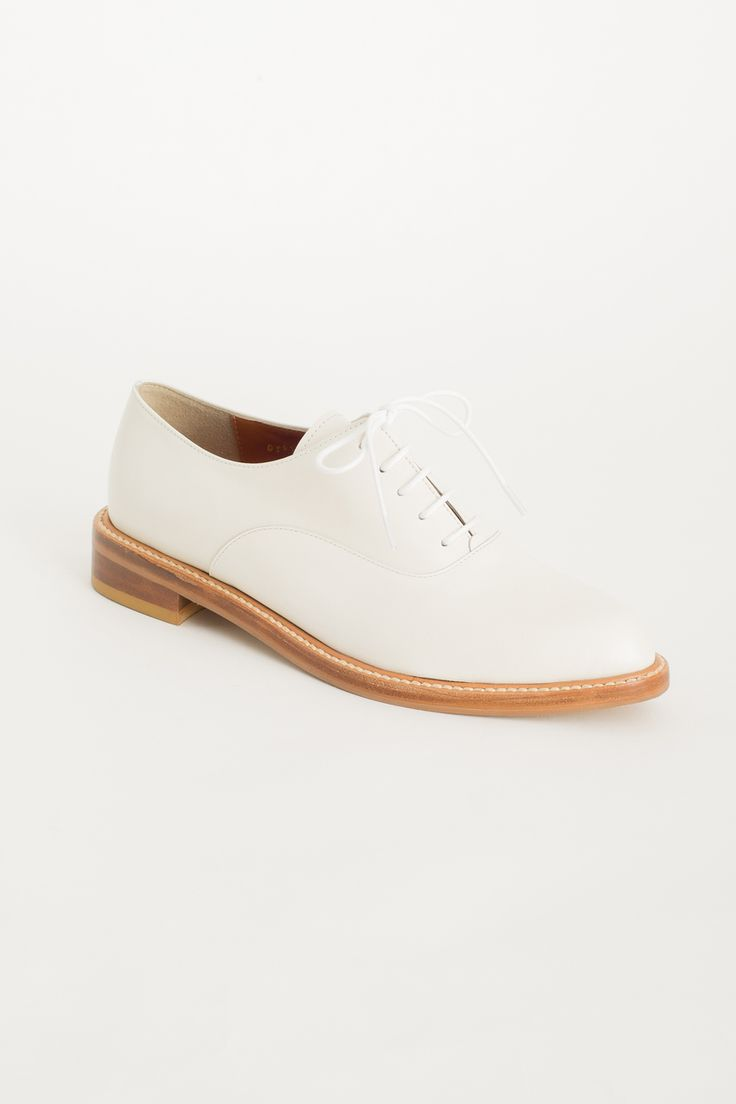 Olive - Pointed Oxford Shoes, White, £159.00 (http://www.oliveclothing.com/p-oliveunique-20160120-022-white-pointed-oxford-shoes-white)