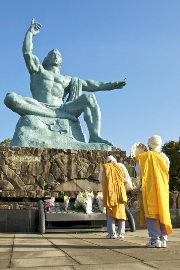 Nagasaki Memorial #japan. This is how it looked when we were there. MB