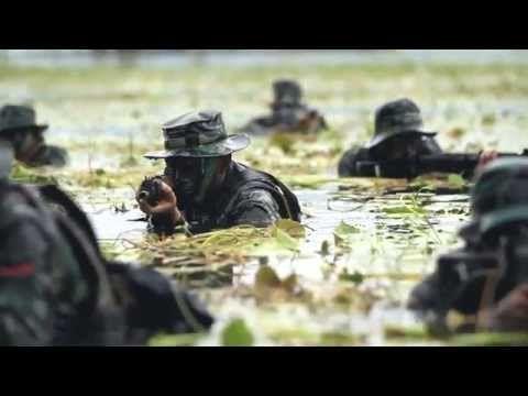 Indonesian Army Yonif 900 Raider - YouTube