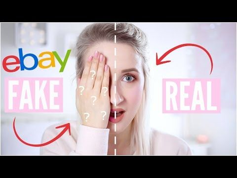 REAL vs FAKE Makeup - TESTING EBAY FAKES | Sophie Louise http://makeup-project.ru/2017/05/13/real-vs-fake-makeup-testing-ebay-fakes-sophie-louise/
