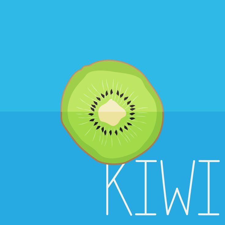 KiWi  EAT YOUR FRUITS By Erin Erratic