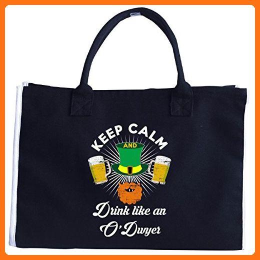 St Patricks Day Irish Keep Calm Drink Like An O'dwyer - Tote Bag - Totes (*Amazon Partner-Link)