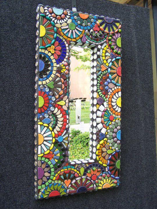 Mirror by Jill Kernodle jillsmosaicmadness.com