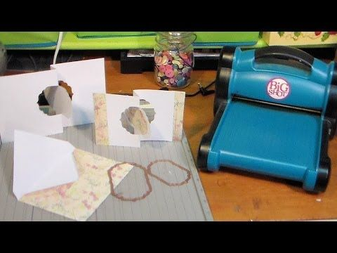▶ DIY flip it cards with any thin die - YouTube