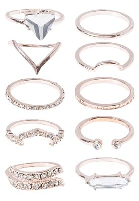 10 PACK - Ring - crystal