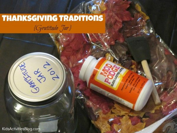 Be Thankful: A Thanksgiving Tradition {Gratitude} - Kids Activities Blog