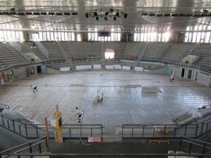 Il PalaCarnera di Udine è uno degli impianti sportivi più importanti del nord est: era chiuso da alcuni anni