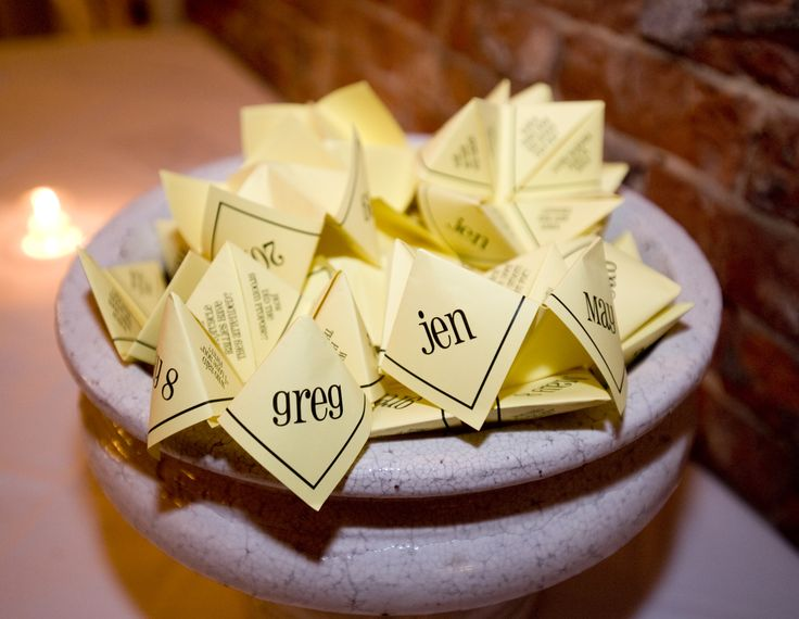 Cute Wedding Favors With Info About The Bride And Groom