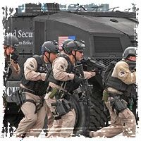 What do you think?  Truth?  DHS spends $80 Million on Private Military for November 1st Food Stamp Riots