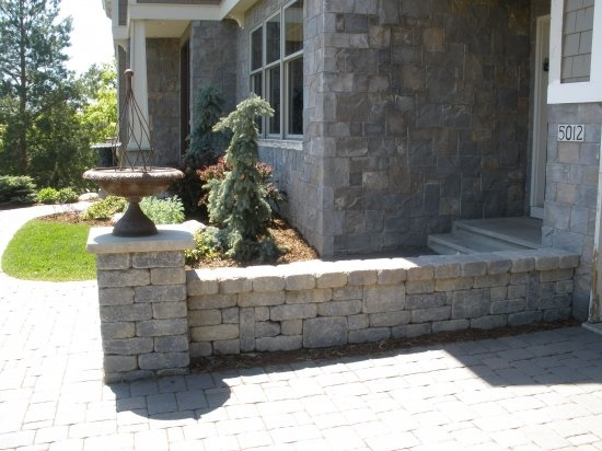 1000 Images About Patios Retaining Wall Ideas On