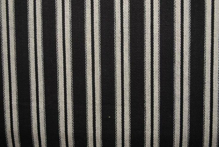 Toulouse Stripe - Liquorice