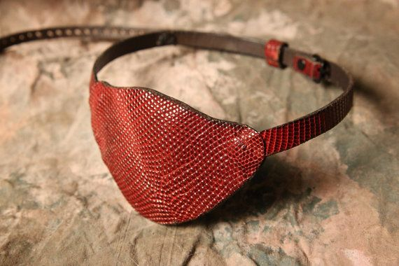 Pirate Eyepatch  Pirate Costume  Steampunk  by ArmadilloLeather