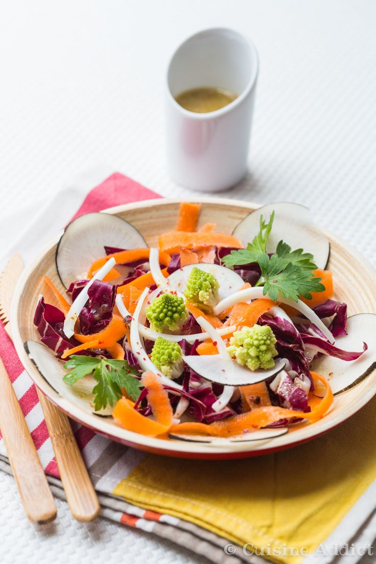 Salade d'Hiver Croquante & Colorée
