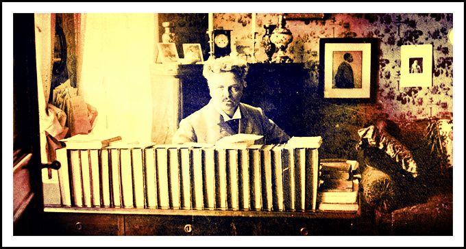 August Strindberg. Swedish author 13