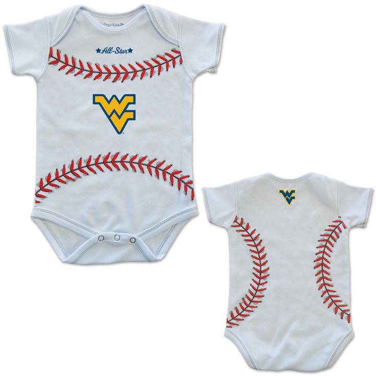 MVP WVU Baseball Infant Onesie