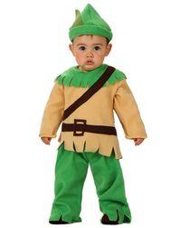 Kostüm WALDKIND in grün/beige