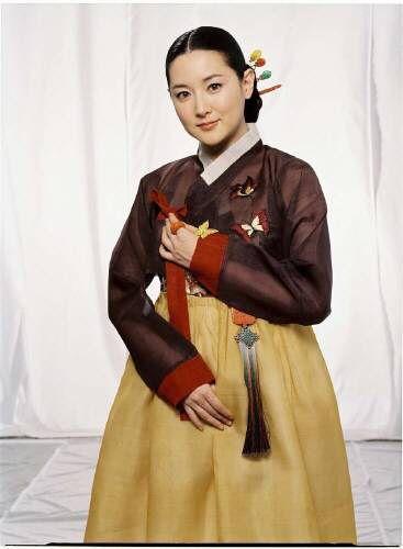 이영애 (LeeYoungAe) 한복 Hanbok : Korean traditional clothes[dress]