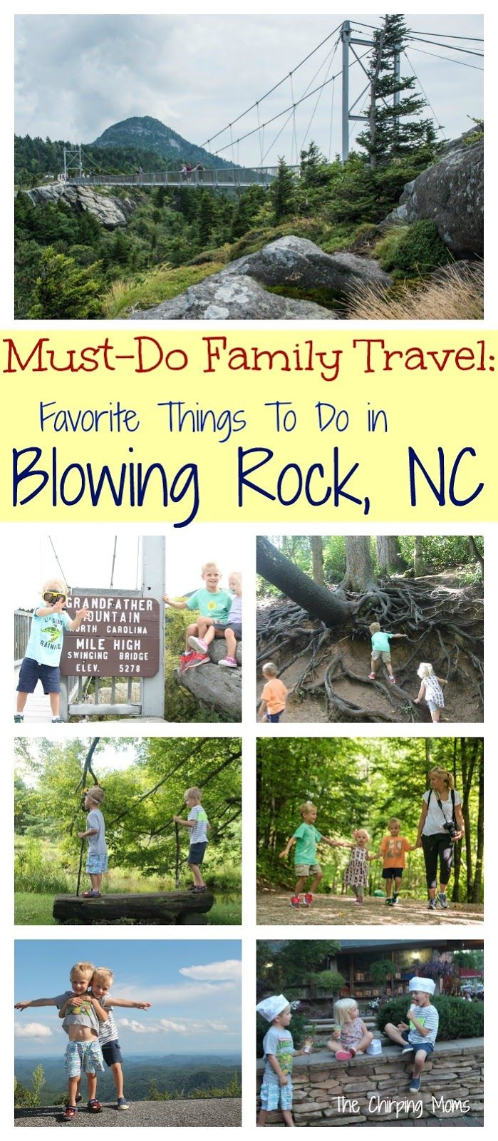 Family Travel: Blowing Rock, NC - The Chirping Moms