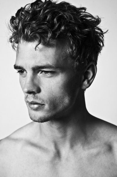 Curly Hairstyles Men Magnificent 9 Best Men's Hair Images On Pinterest  Man's Hairstyle Men Hair