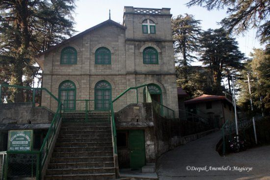 Kellogg Memorial Church est.1903 in Mussoorie