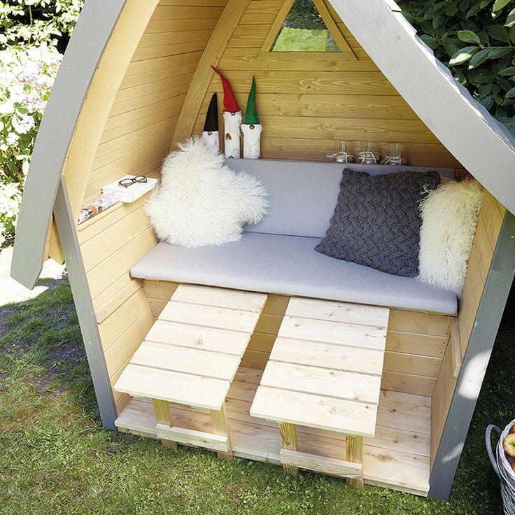 Fancy Lounge H ttentraum ein bayerischer Strandkorb