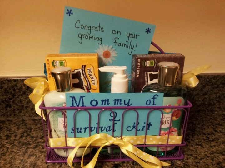 best new mommy survival kits images on   mommy, Baby shower invitation