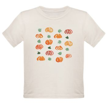 Tee With Pumpkins