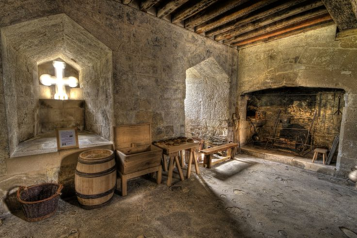 medieval kitchen ages middle castle houses interiors castles inside homes interior decor kitchens bedroom rooms fantasy country google flickr fancy