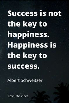 "Inspirational success and happiness quotes to put things in perspective. Which comes first? Success or happiness? Avoid the ""I'll be happy when..."" syndrome. Check out these motivational quotes from successful people past and present that define the real meaning of happiness and truly getting what you want out of life →"