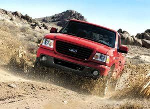 2011 Ford Ranger Trucks Gas Mileage Estimates: Ford Ranger Truck